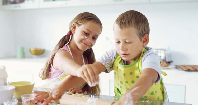Getting Your Children Into The Kitchen