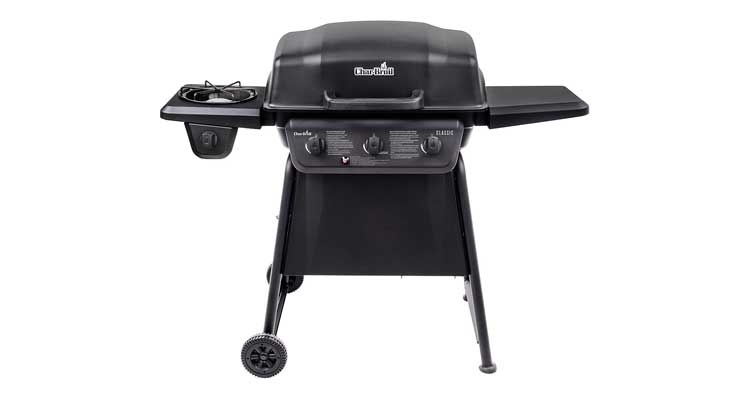 Char-Broil Classic 360 3-Burner Liquid Propane Gas Grill with Side Burner