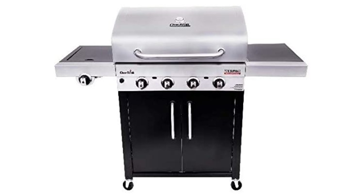 Char-Broil 463280419 Performance TRU-Infrared 4-Burner Cabinet Style Gas Grill