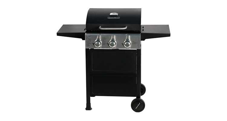 MASTER COOK 3 Burner BBQ Propane Gas Grill