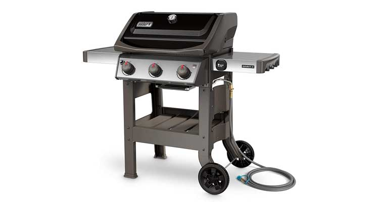 Weber 49010001 Spirit II E-310 3-Burner Natural Gas Grill