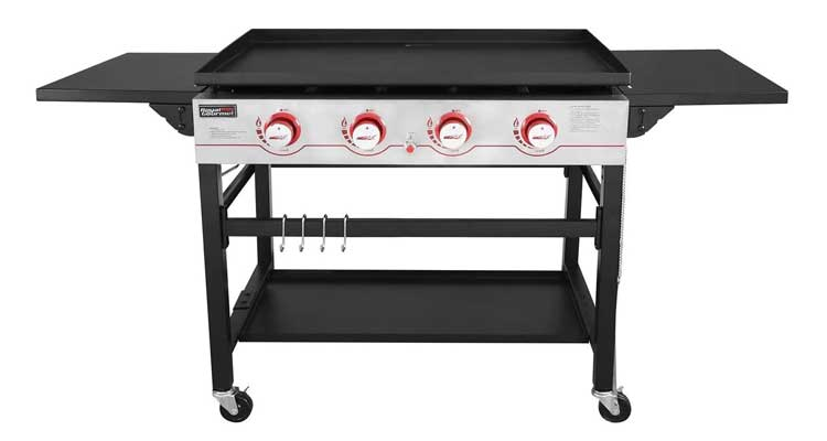 Royal Gourmet GB4000 36-inch 4-Burner Flat Top Propane Gas Grill Griddle