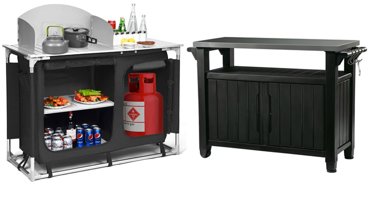 5 Best Outdoor Grill Prep Tables for 2020