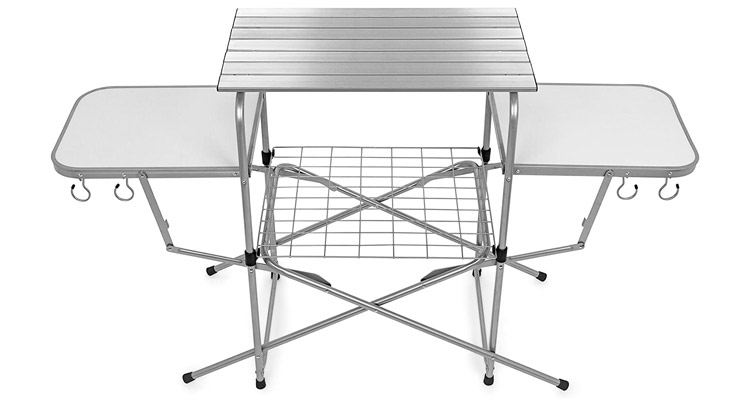 Giantex Camping Kitchen Outdoor Grill Table