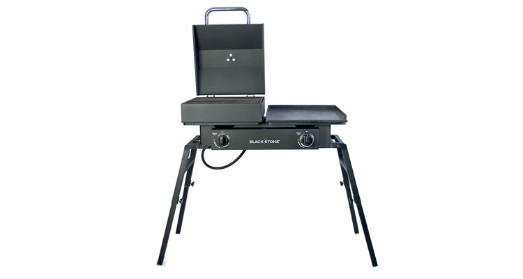 Blackstone Tailgater Portable Gas Grill and Griddle Combo