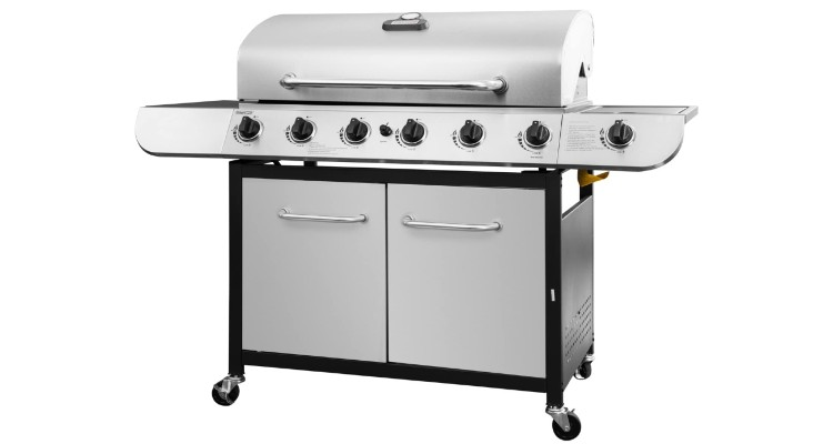 Royal Gourmet 6-Burner Stainless Steel Gas Grill