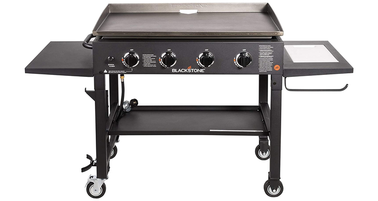 Blackstone 36-Inch Outdoor Flat Top Gas Grill Griddle Station