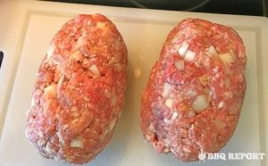 Divided BBQ meatloaves