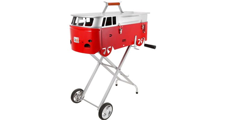 Starwide Go Bus-Shaped BBQ