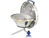 Magma Marine Kettle Gas Grill with Hinged Lid