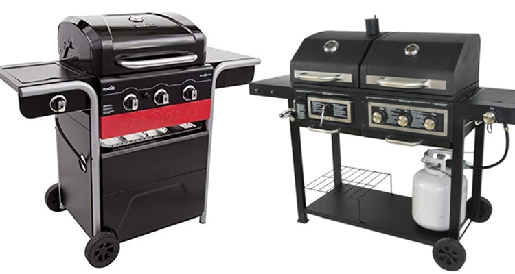 Best Gas and Charcoal Grill Combo