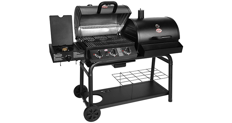 Char-Griller 5050 Duo Gas and Charcoal Grill