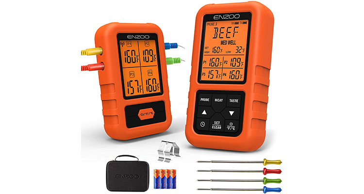 ENZOO Wireless Digital Meat Thermometer