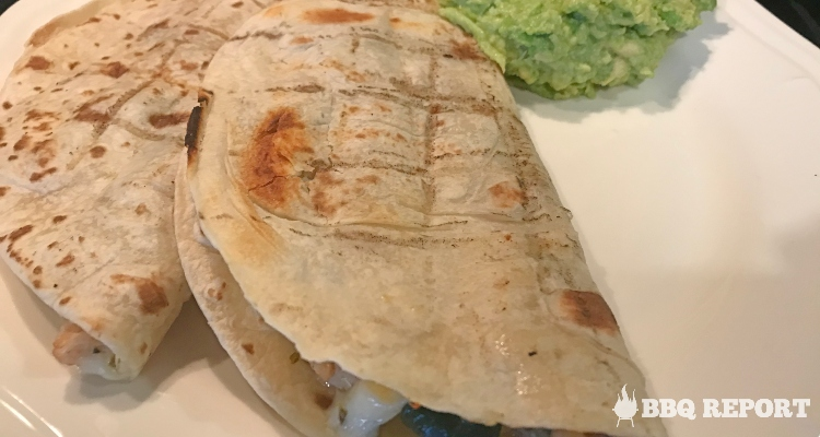 Healthy Grilled Chicken and Veggie Quesadilla Recipe