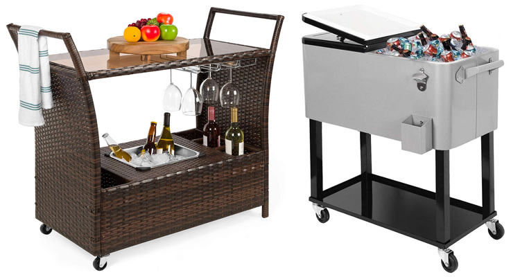 10 Best Outdoor Portable Bar Carts for 2021