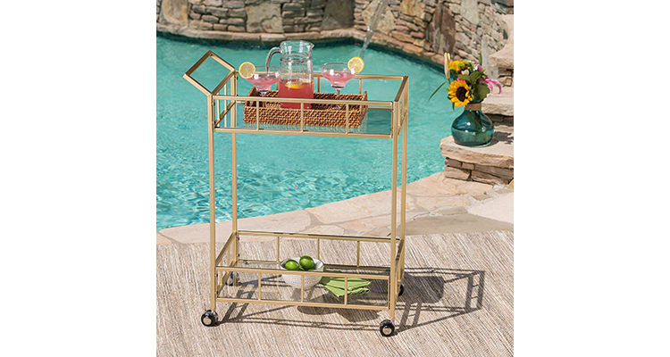 Christopher Knight Home Alice | Outdoor Drinks Cart
