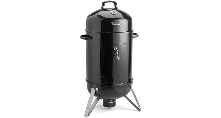 Cuisinart COS-118 Vertical 18″ Charcoal Smoker. ON SALECuisinart COS-118 Vertical 18' Charcoal Smoker