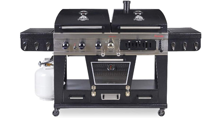 Pit Boss Memphis Ultimate 4-in-1 Gas/Charcoal Smoker