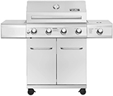 Monument 4-Burner Stainless Steel Grill