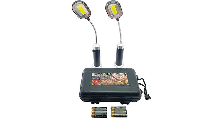 BRIGHT EYES Magnetic LED BBQ Grill Lights