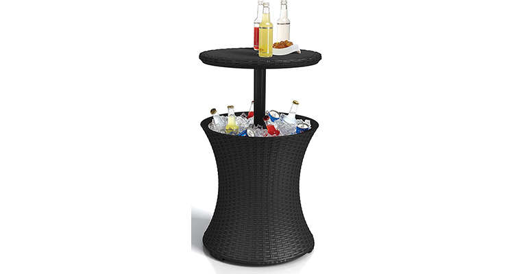 Keter Pacific Cool Outdoor Bar Table