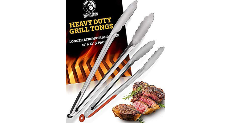 Mountain Grillers Heavy Duty Grilling Tongs
