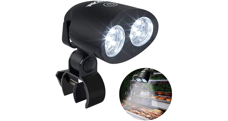 RVZHI 360° Rotation Barbecue Grill Light