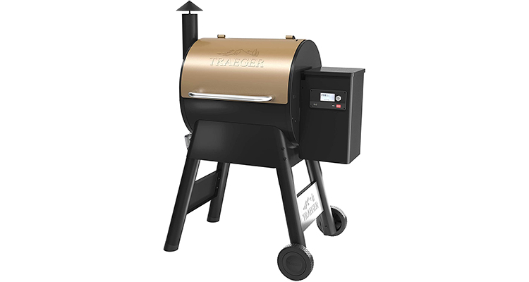 Traeger Pro 575 Wood Pellet Electric Smoker Grill Combo