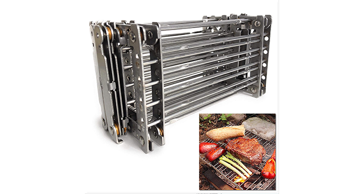 Bitty Big Q Stainless Steel Lightweight Camping Grill