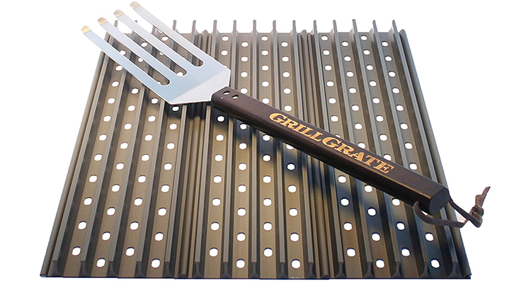 GrillGrates Set of Three with Grate Tool