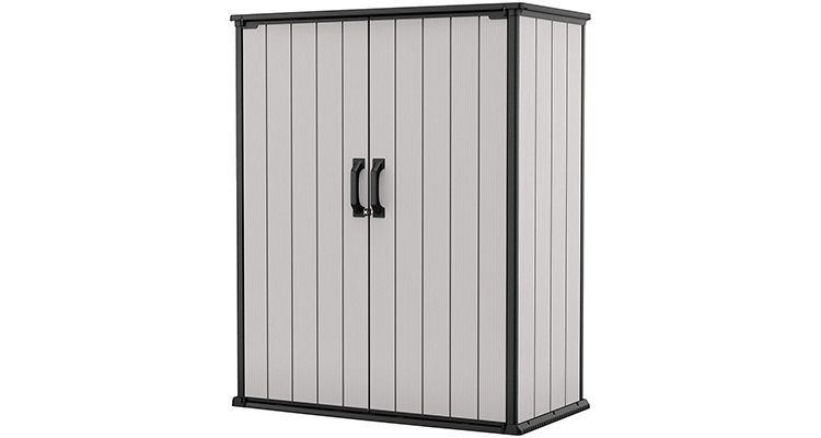 Keter Premier Outdoor Storage Shed with Shelves