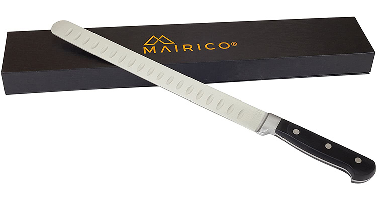 MAIRICO Ultra Sharp 11-inch Stainless Steel Carving Knife