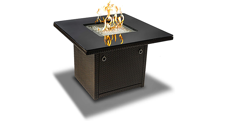 Outland Living 410 Series 36-Inch Patio Deck Fire Pit Table