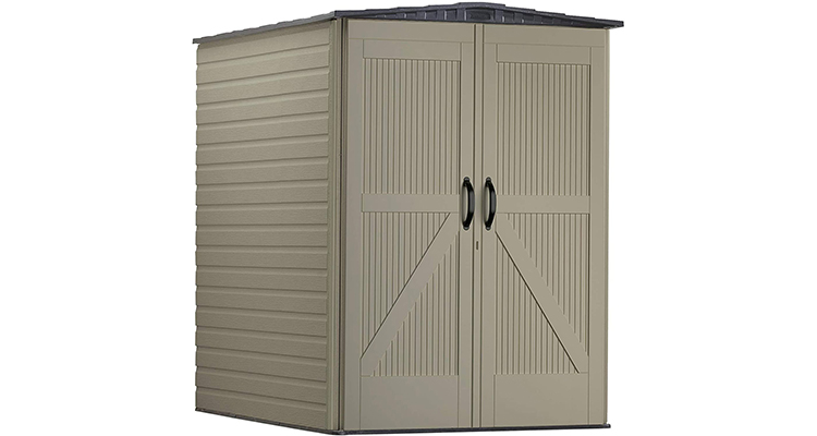 Rubbermaid Large Vertical Resin Storage Shed