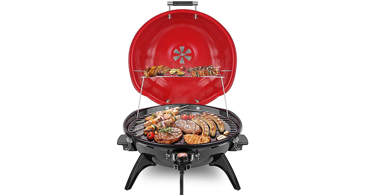 Techwood Portable Electric Barbecue Grill