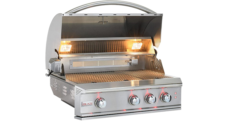 Blaze Professional LUX 34-Inch 3-Burner Built-in Natural Gas Grill