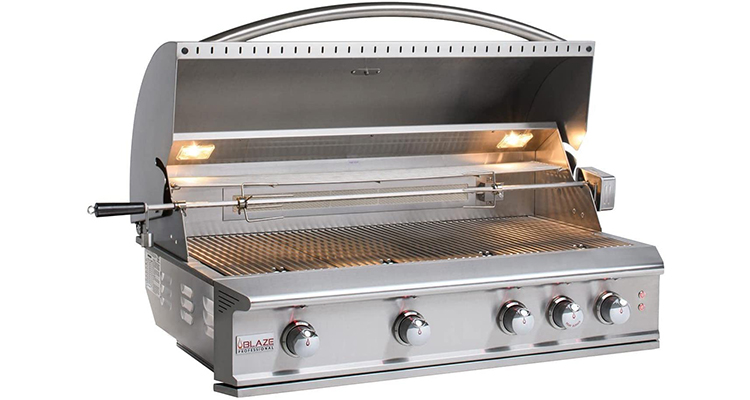 Blaze Professional LUX 44-Inch 4-Burner Built-in Propane Gas Grill