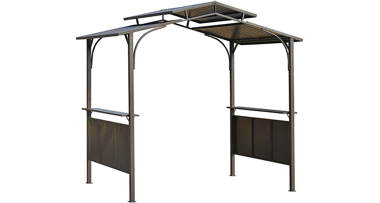 Outsunny 8' x 5' BBQ Grill Shelter